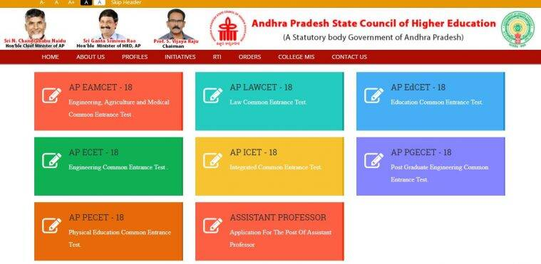 sche.ap.gov.in, AP ECET result, APECET results 2018