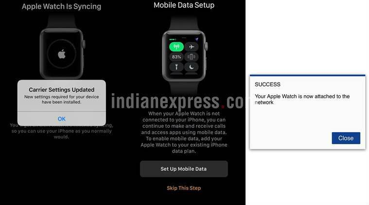 apple watch airtel