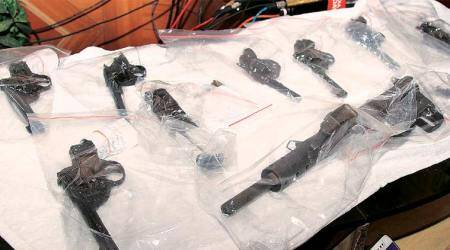 Two workers of Rifle Factory Ishapore among six arrested: STF