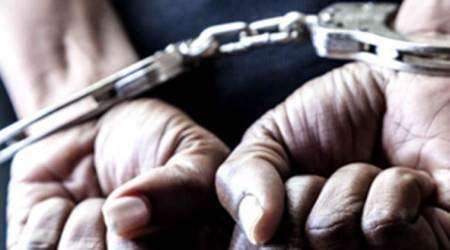 20-year-old man arrested for 'stealing' from police quarters