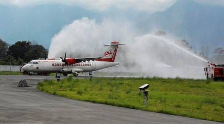 Fact check: Arunachal Pradesh's first commercial flight didn't land Monday, but in1980s