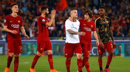 'An absolute joke': Roma furious over referee'sdecisions