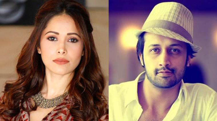 Nushrat Bharucha music video with Atif