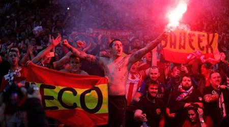 Atletico Madrid charged by UEFA over 'racist behaviour', fireworks