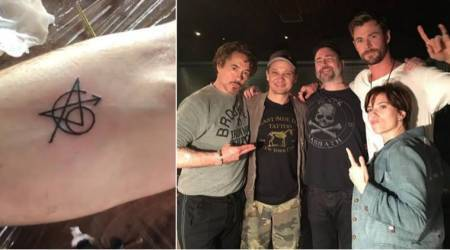 Marvel's original Avengers celebrate Infinity War by getting matching tattoos