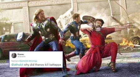 This 'Avengers: Infinity War'-'Baahubali 2' meme series is the 'baap' of all superhero movies