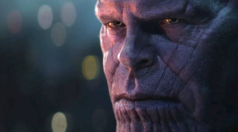 thanos from avengers infinity war