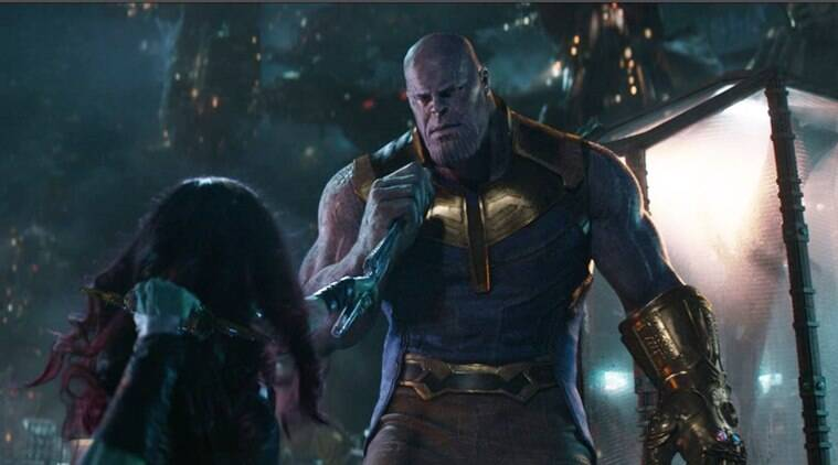 Actor Josh Brolin played the supervillain Thanos