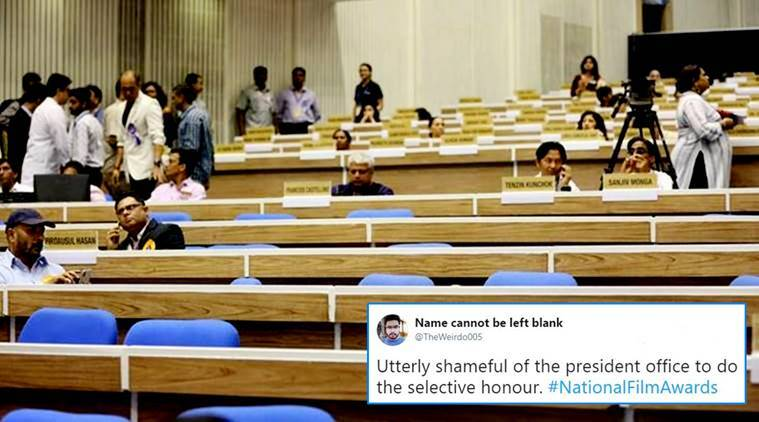 65th National Film Awards ceremony, 65th National Film Awards ceremony controversy, awards winners boycott award ceremony, film awards boycotted, indian express, indian express news
