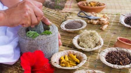 ayurvedic superfoods, benefits of ayurvedic foods, ginger benefits, ghee benefits, almond benefits, saffron benefits, brahmi benefits, indian express, indian express news