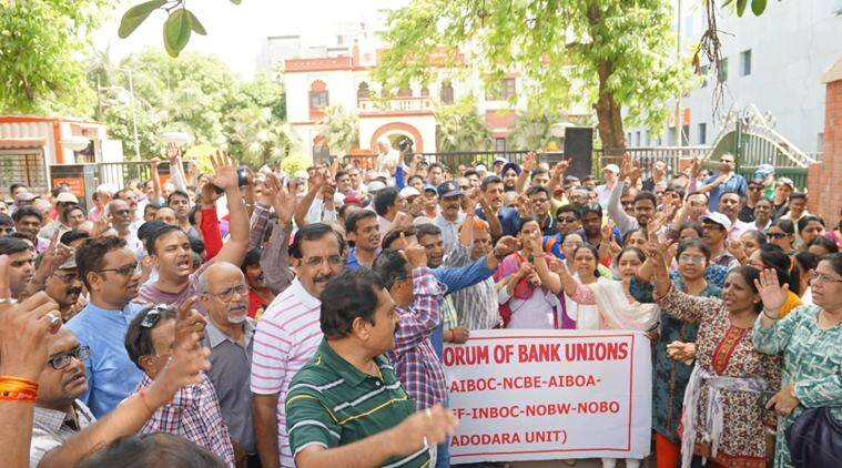 Banking services hit hard as 60,000 employees go on strike