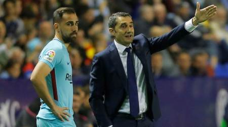 We're all annoyed to lose, says Barcelona manager ErnestoValverde