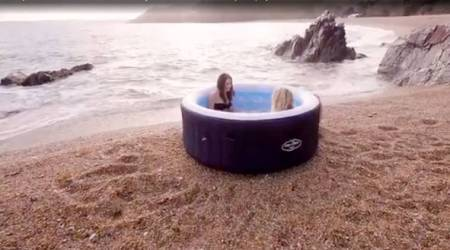 VIDEO: Love taking long baths? Apply to be a hot tub tester this summer
