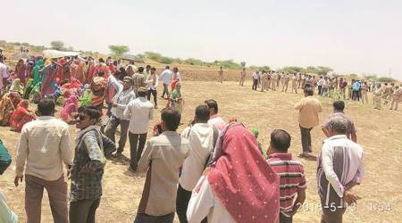 Bhavnagar Lignite mining land protest turns violent, farmers clash with police