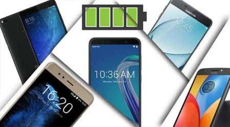 Top five smartphones with best battery backup (May2018)