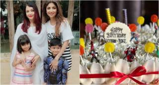 Shilpa Shetty celebrates son Viaan's birthday, Aishwarya Rai attends the bash with daughter Aradhya