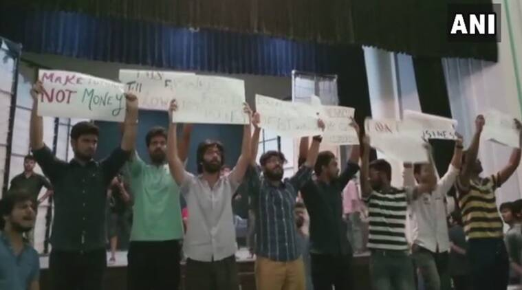 BITS-Pilani Hyderabad campus students protest against fee hike for past three days