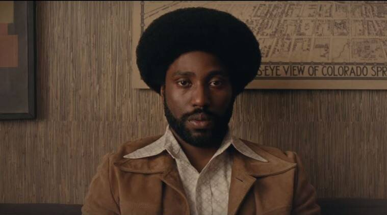 BlacKkKlansman trailer still