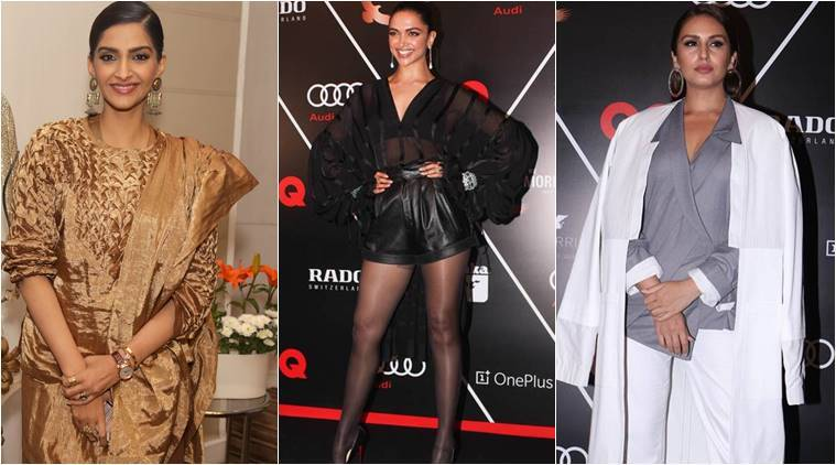 Bollywood fashion, celeb fashion, Deepika Padukone, Kareena Kapoor Khan, Sonam Kapoor, indian express, indian express news