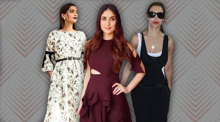 Celeb fashion, Bollywood fashion, Kareena Kapoor Khan, Sonam Kapoor, Swara Bhaskar, Neha Dhupia, indian express, indian express news
