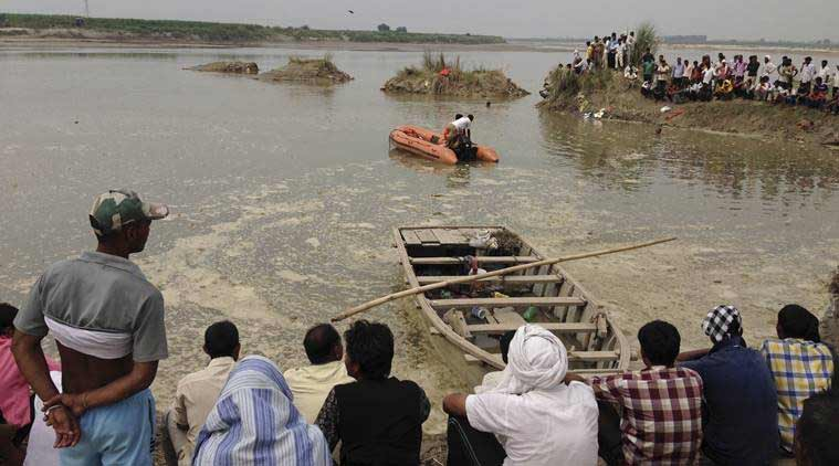 Several feared dead as boat carrying 40 people capsizes in Godavari river