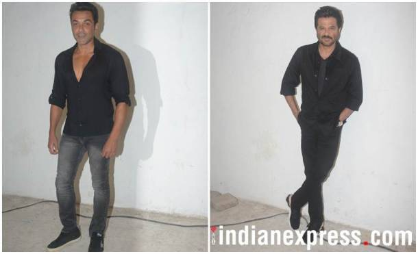 Bobby Deol and Anil Kapoor