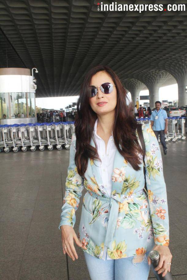 dia mirza spotted photo