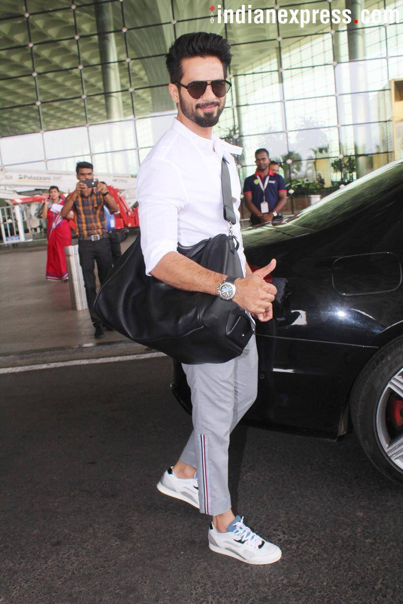 shahid kapoor spotted photo