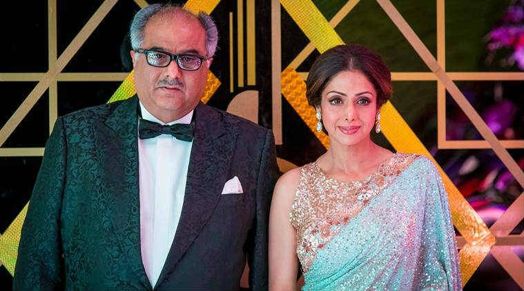 Sridevi husband Boney Kapoor to make a film on Sridevi's journey