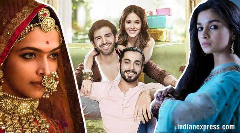 padmaavat to raazi box office 100 crore