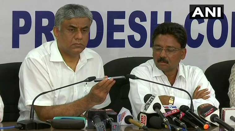 congress audio tape, karnataka elections, congress released audio clip, janardhan reddy, karnataka governor, karnataka polls