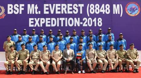 BSF's Loveraj Singh Dharmshaktu sets national record, scales Mount Everest for seventh time