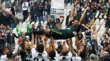 Gianluigi Buffon bids farewell to Juventus after 656 games