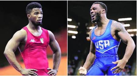 Jordan Burroughs vs Frank Chamizo in 'Rumble on the River': Wrestlers ready to rumble… on the mat