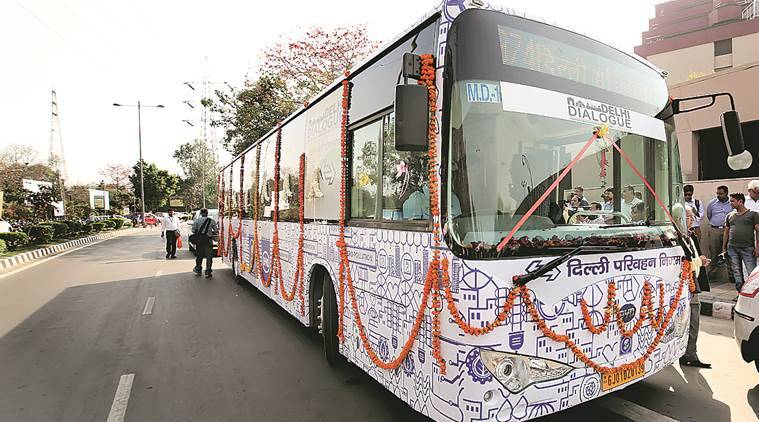 Shoot down govt plan to buy 1,000 e-buses using green cess: panel