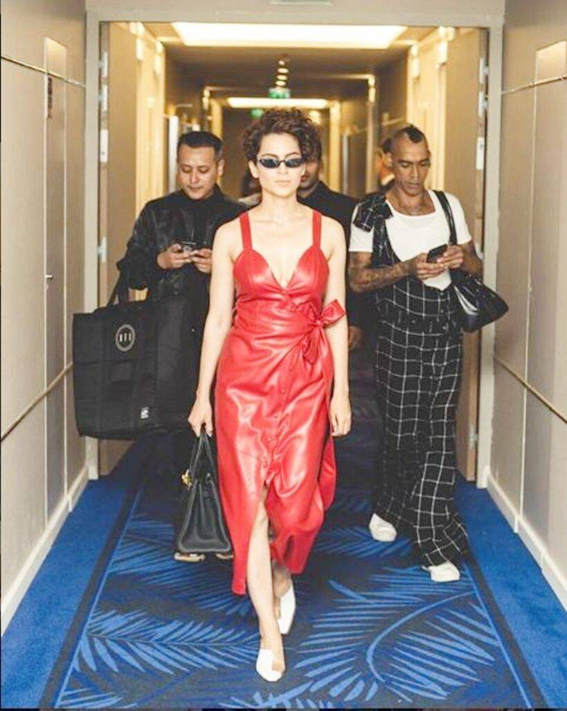 kangana ranaut at cannes film festival 2018