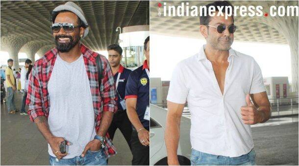 Remo D'souza and Bobby Deol