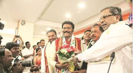 Anand Singh -- the Karnataka MLA who did not show up at Congress meeting