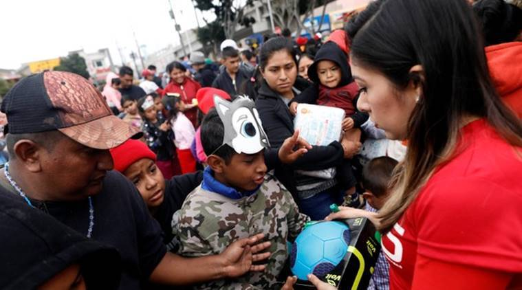 US-Mexico, Central American caravan, US-Mexico border, San Ysidro, Donald Trump, United States, US migrants, world news