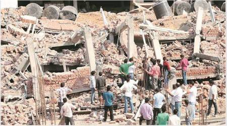 Peermuchalla building collapse: As investigation moves at a snail's pace, police accuse Zirakpur MC of 'non-cooperation'