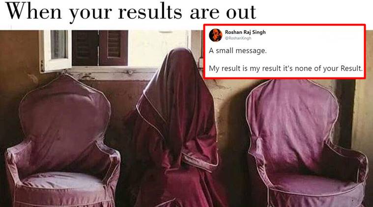 CBSE result, CBSE 12th Result 2018, CBSE Board Class 12th Result 2018, Central Board of Secondary Education, CBSC Class 12 May 26, result jokes, CBSE result twitter reactions, indian express, indian express trending news