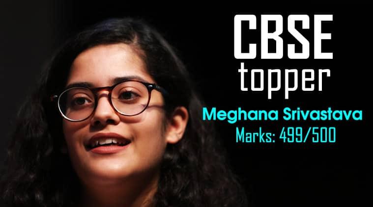 Cbse 12th Result 2018 Topper Meghana Srivastava Aims To