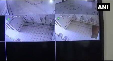 Aligarh: College students protest installation of CCTV cameras in men's loo