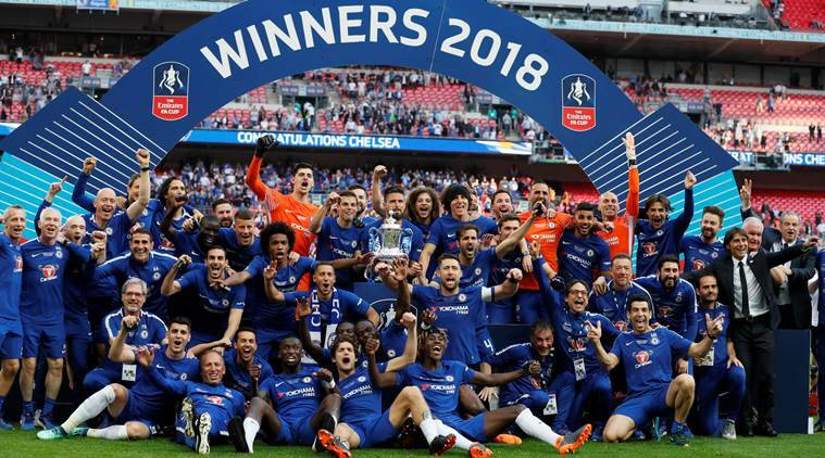 Chelsea win FA Cup with 1-0 win over Manchester United in final ...