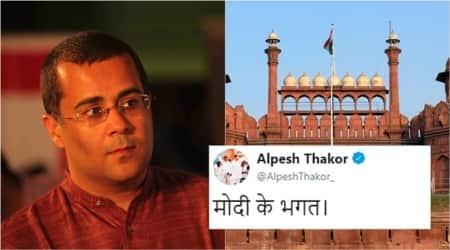 Red Fort debate: Chetan Bhagat responds to Alpesh Thakor after he calls him 'Modi kebhagat'