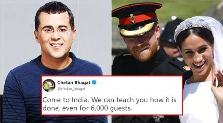 Chetan Bhagat has the best reply to BBC's question — How can one cater for 600 weddingguests