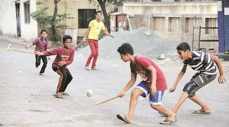 In Pimpri, where playgrounds are rare, kids risk lives by playing on public roads