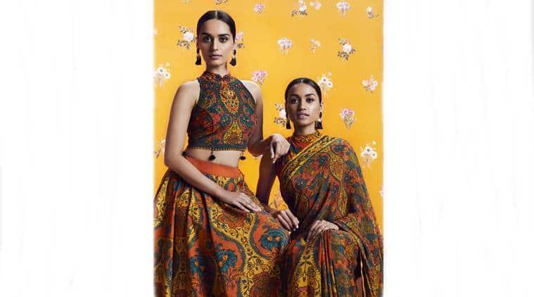 fashion, ritu kumar, sabyasachi, Abraham & Thakore, chintz, chintz print detail, fashion prints, indian express, indian express news