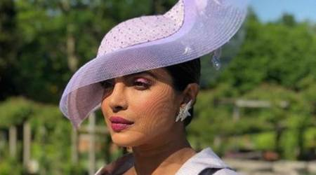 Priyanka Chopra attends the Royal Wedding of Meghan Markle and Prince Harry