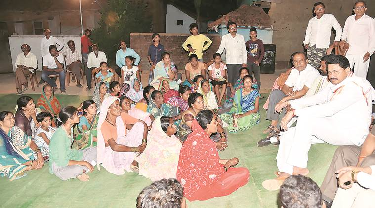 In Nagpur neighbourhood, Cong-NCP 'local' campaign takes fight to ruling BJP